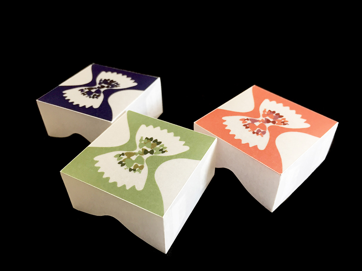 Farfalle packaging