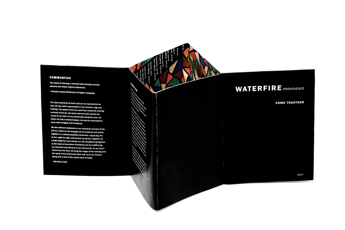 WaterFire zine